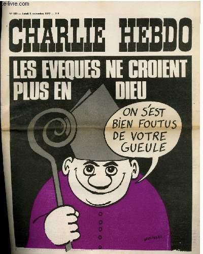 CHARLIE HEBDO N°103 - LES EVEQUES NE CROIENT PLUS EN DIEU