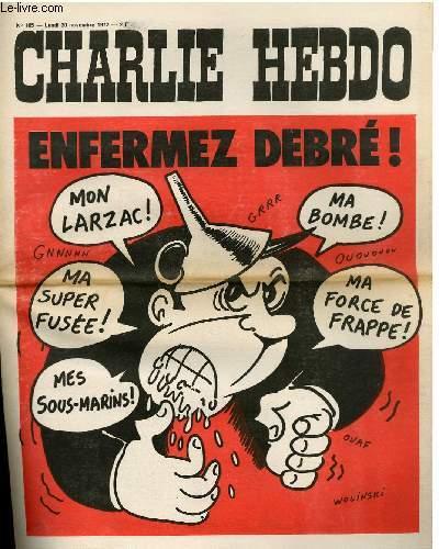 CHARLIE HEBDO N°105 - ENFERMEZ DEBRE