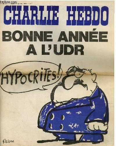 CHARLIE HEBDO N°111 - BONNE ANNEE A L'UDR