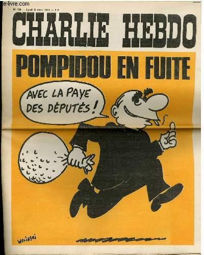 CHARLIE HEBDO N°120 - POMPIDOU EN FUITE