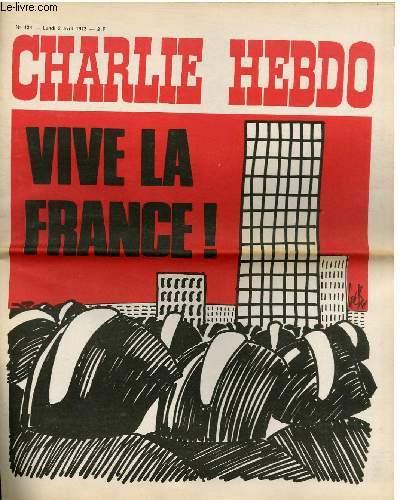 CHARLIE HEBDO N°124 - VIVE LA FRANCE
