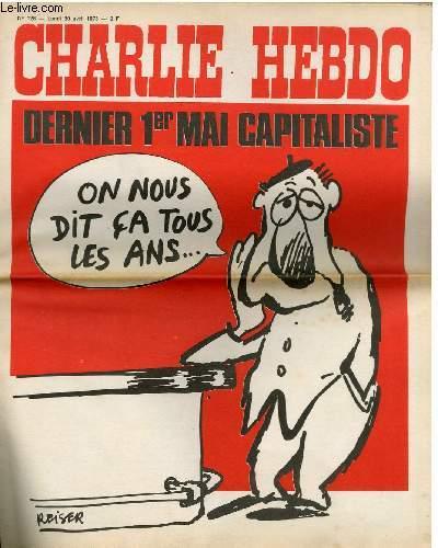 CHARLIE HEBDO N°128- DERNIER 1ER MAI CAPITALISTE