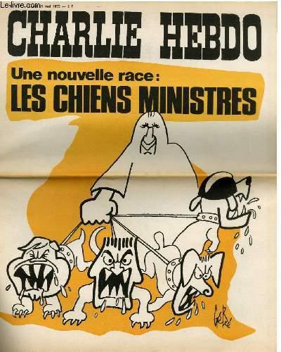 CHARLIE HEBDO N°131 - UNE NOUVELLE RACE : LES CHIENS MINISTRES