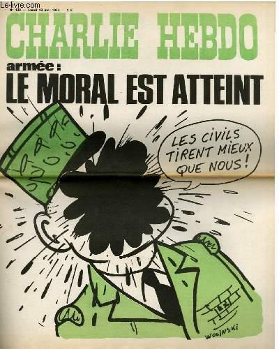 CHARLIE HEBDO N°132 - ARMEE : LE MORAL EST ATTEINT