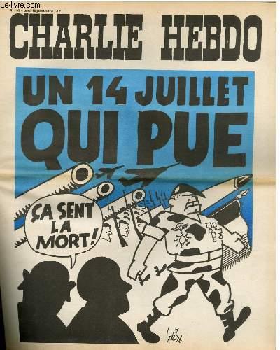 CHARLIE HEBDO N°139 - UN 14 JUILLET QUI PUE