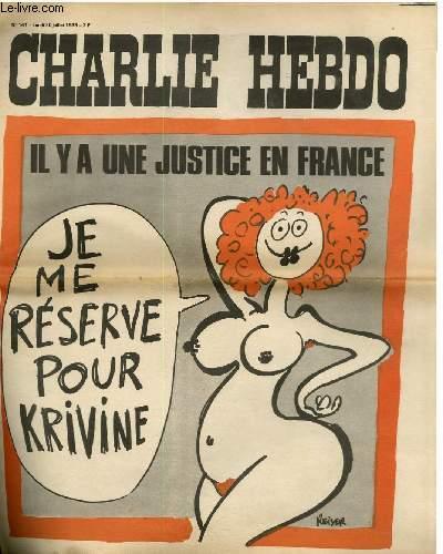 CHARLIE HEBDO N°141 - IL Y A UNE JUSTICE EN FRANCE