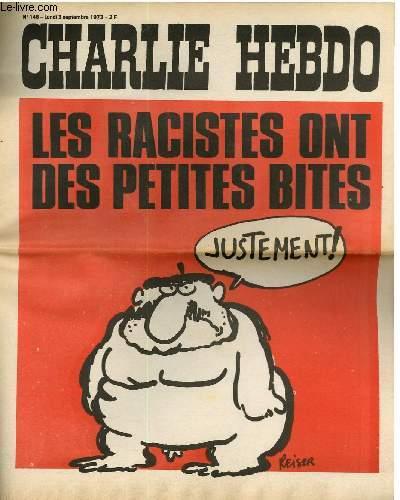 CHARLIE HEBDO N°146 - LES RACISTES ONT DES PETITES BITES