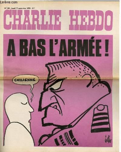 CHARLIE HEBDO N�148 - A BAS L'ARMEE