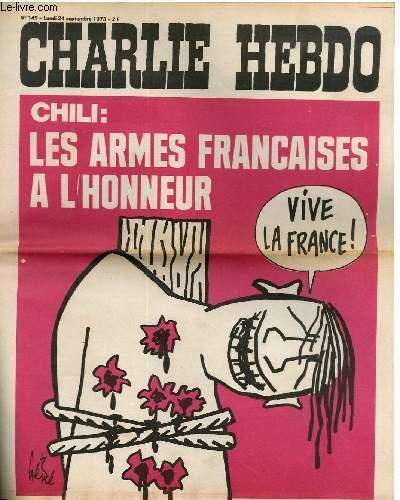 CHARLIE HEBDO N�149 - CHILI : LES ARMES FRANCAISES A L'HONNEUR
