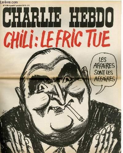 CHARLIE HEBDO N°150 - LE FRIC TUE