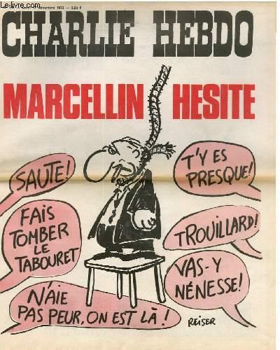 CHARLIE HEBDO N°161 - MARCELLIN HESITE