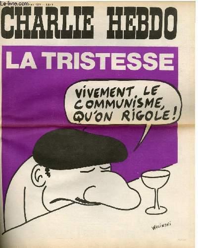 CHARLIE HEBDO N°173 - LA TRISTESSE