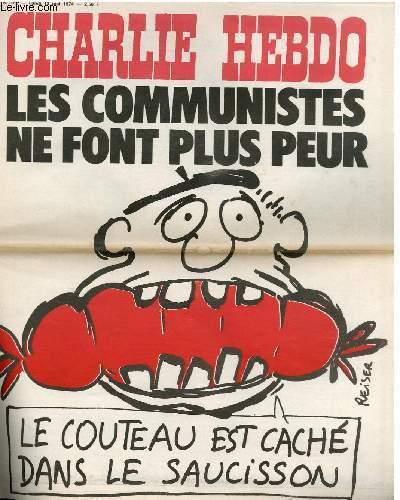 CHARLIE HEBDO N°182 - LES COMMUNISTES NE FONT PLUS PEUR
