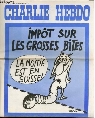 CHARLIE HEBDO N°187 - IMPÔT SUR LES GROSSES BITES