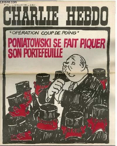 CHARLIE HEBDO N°190 -