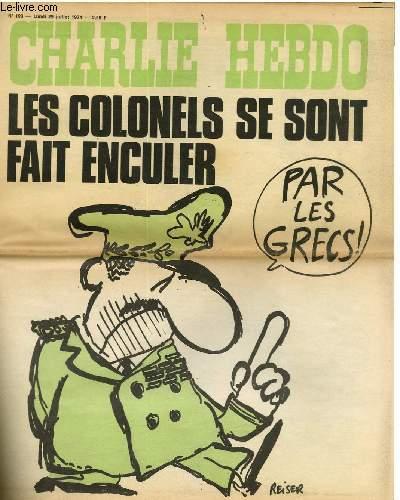 CHARLIE HEBDO N°193 - LES COLONELS SE SONT FAIT ENCULER