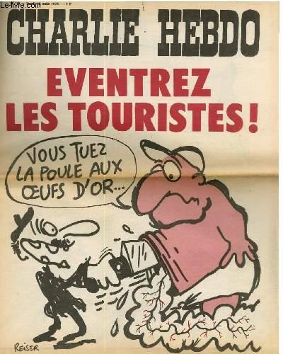CHARLIE HEBDO N°196 - EVENTREZ LES TOURISTES