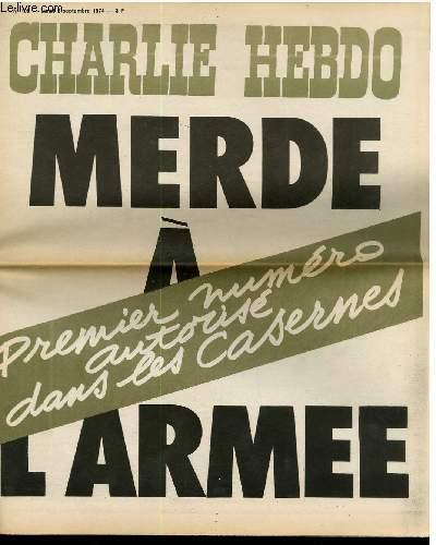 CHARLIE HEBDO N°198 - MERDE A L'ARMEE