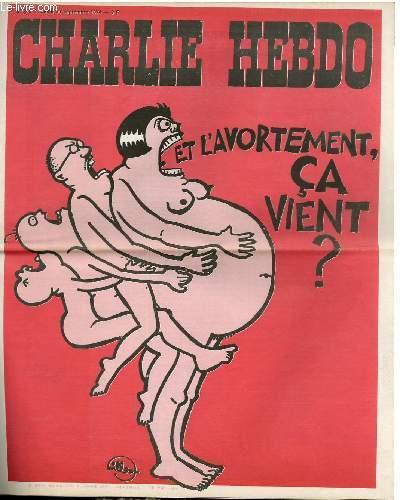 CHARLIE HEBDO N°202 - ET L'AVORTEMENT CA VIENT ?