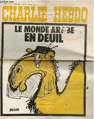 CHARLIE HEBDO N°228 - LE MONDE ARABE EN DEUIL