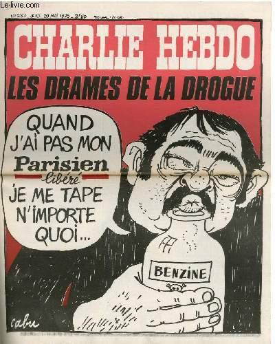 CHARLIE HEBDO N°237 - LES DRAMES DE LA DROGUE