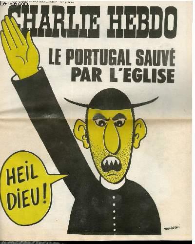 CHARLIE HEBDO N°248 - LE PORTUGAL SAUVE PAR L'EGLISE