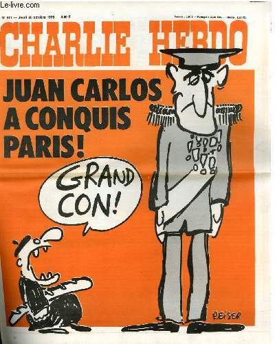 CHARLIE HEBDO N°311 - JUAN CARLOS A CONQUIS PARIS