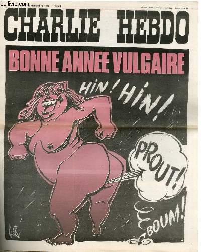 CHARLIE HEBDO N°320 - BONNE ANNEE VULGAIRE