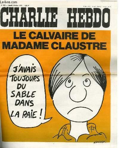 CHARLIE HEBDO N°325 - LE CALVAIRE DE MADAME CLAUSTRE