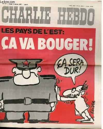 CHARLIE HEBDO N�327 - LES PAYS DE L'EST CA VA BOUGER