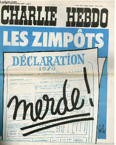 CHARLIE HEBDO N°328 - LES ZIMPÔTS