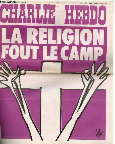 CHARLIE HEBDO N°329 - LA RELIGION FOUT LE CAMP