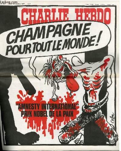 CHARLIE HEBDO N°361 - CHAMPAGNE POUR TOUT LE MONDE !