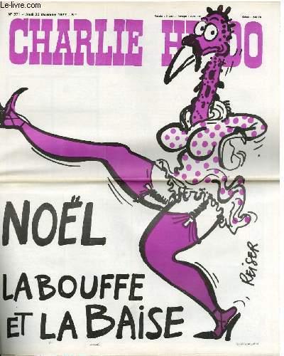 CHARLIE HEBDO N°371 - NOËL, LA BOUFFE ET LA BAISE
