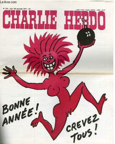 CHARLIE HEBDO N°372 - BONNE ANNEE, CREVEZ TOUS !