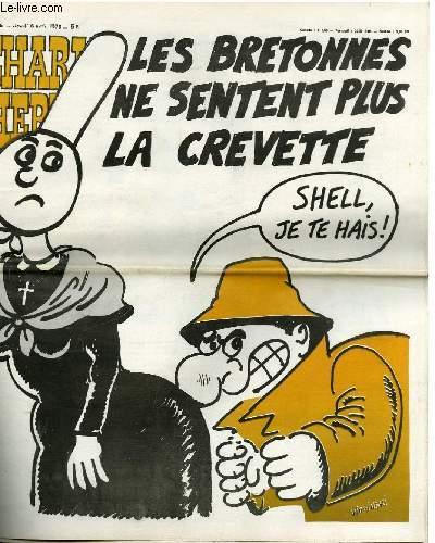 CHARLIE HEBDO N°386 - LES BRETONNES SE SENTENT PLUS LA CREVETTE