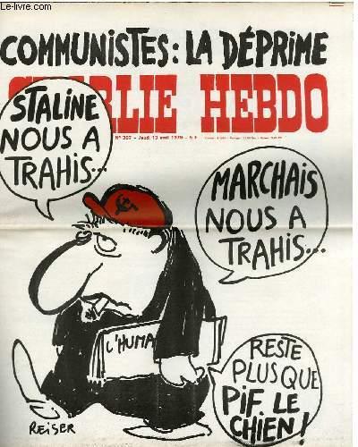 CHARLIE HEBDO N�387 - COMMUNISTE : LA DEPRIME