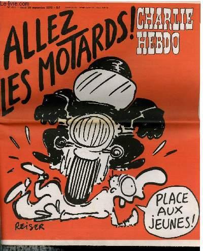 CHARLIE HEBDO N°411 - ALLEZ LES MOTARDS