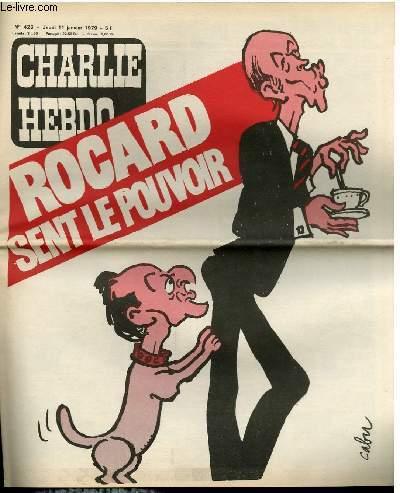 CHARLIE HEBDO N�426 - ROGARD SENT LE POUVOIR