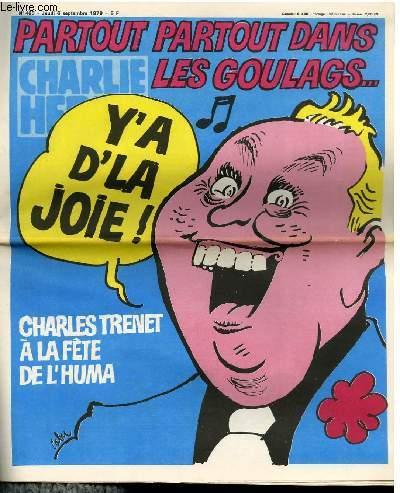 CHARLIE HEBDO N°460 - PARTOUT PARTOUT DANS LES GOULAG