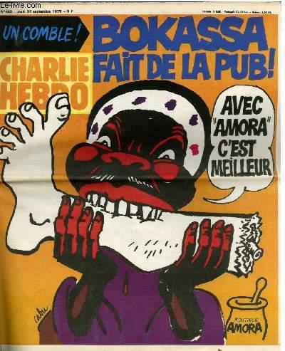 CHARLIE HEBDO N°463 - BOKASSA FAIT DE LA PUB