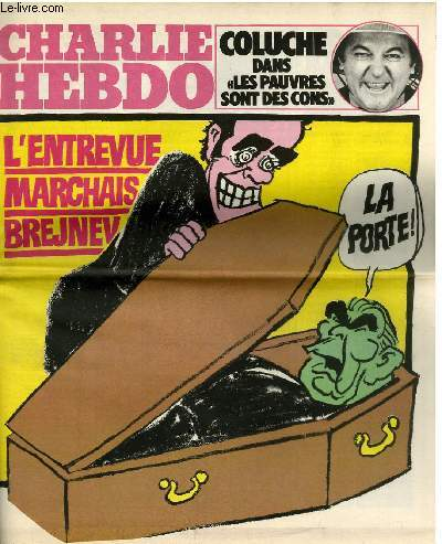 CHARLIE HEBDO N°478 - L'ENTREVUE DE MARCHAIS BREJNEV