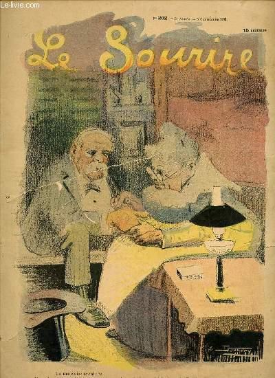LE SOURIRE N°202 - CINQUIEME ANNEE. LA MAUVAISE AVENTURE.