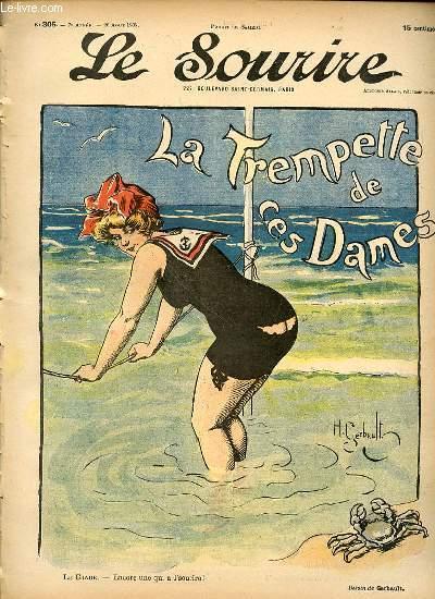 LE SOURIRE N°305 - SEPTIEME ANNEE. LE CRABE.