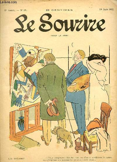 LE SOURIRE N°25 - QUINZIEME ANNEE. LES THEORIES.