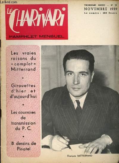 LE CHARIVARI N°19- TROISIEME ANNEE. LA GAULLAS.