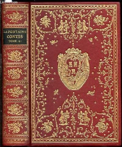 CONTES ET NOUVELLES EN VERS - TOME 1 AVEC LES ILLUSTRATIONS DE FRAGONARD PARUES DANS L'EDITION DE DIDOT DE 1795.