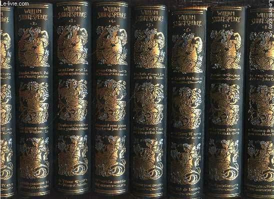 OEUVRES COMPLETES EN 8 TOMES (1+2+3+4+5+6+7+8 - COMPLET). EDITION ORIGINALE DE JEAN DE BONNOT N°153.