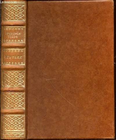 OEUVRES DE MAISTRE FRANCOIS VILLON - ILLUSTRATIONS DESSINEES ET GRAVEES PAR EMILE BERNARD.