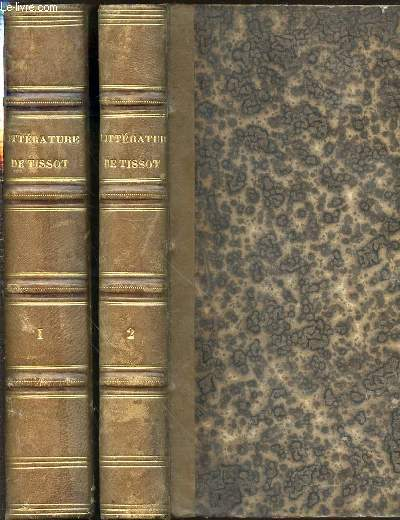 LECONS ET MODELES DE LITTERATURE FRANCAISE ANCIENNE ET MODERNE EN 2 TOMES (1+2) - EDITION ILLUSTREE.
